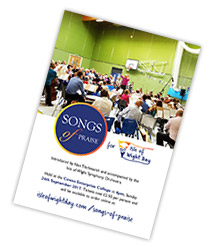 IOWDay songs of praise leaflet