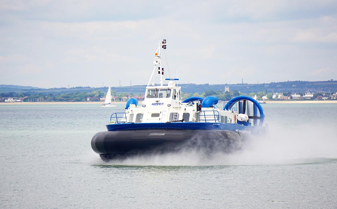 5 reasons to visit isle of wight Hovertravel